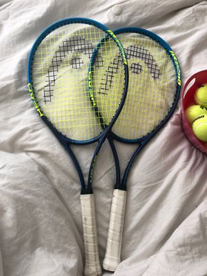 Tennis rackets and balls for Sale in Las Vegas, NV