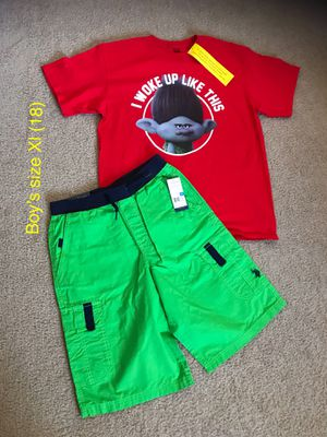 New Polo and Trolls Boys size XL (18) (Nuevo). for Sale in Palmdale, CA