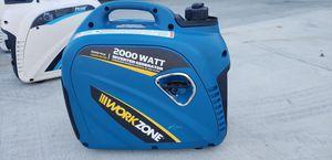 2000 watt inverter generator quiet and portable for Sale in Fontana, CA