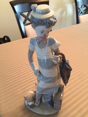 Lladro 5838 On the move black legacy clown figurine for Sale in Encinitas, CA
