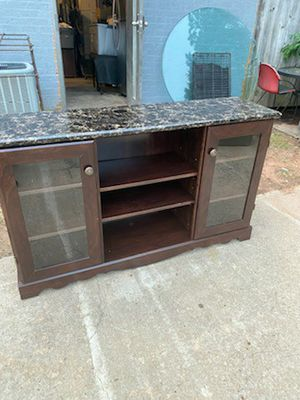 Contemporary 60 in TV. stand for Sale in Fayetteville, GA