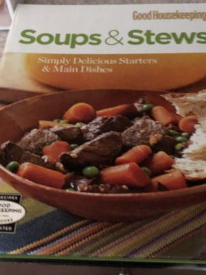 Fall is here why not try some soup or Stew? Cookbook for Sale in Durham, NC
