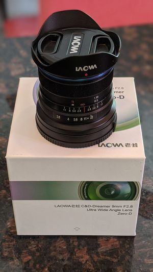 Laowa 9mm 2.8 ultra wide lens for Sony e-mount camera for Sale in Levittown, PA