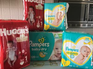 Diapers Size 1 for Sale in Mesa, AZ