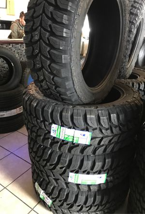 LT 3512.5022 CROSSWIND MUD TIRES $39 DOWN PAYMENT AND 100 days cash to payoff for Sale in Raleigh, NC