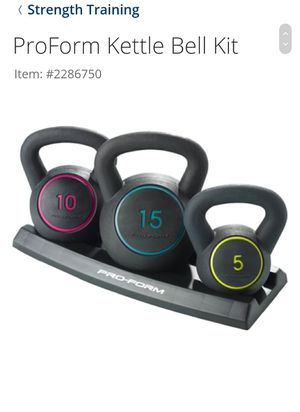 Weight kettle bells for Sale in Ceres, CA