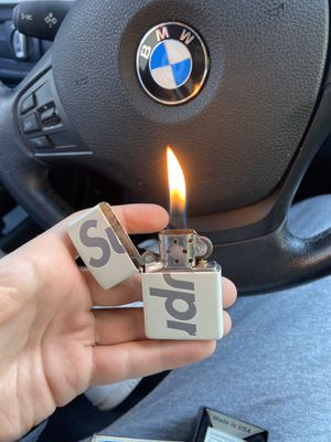 supreme zippo lighter for Sale in Los Angeles, CA