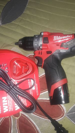 New M12 hammer drill with battery and charger for Sale in Commerce, CA