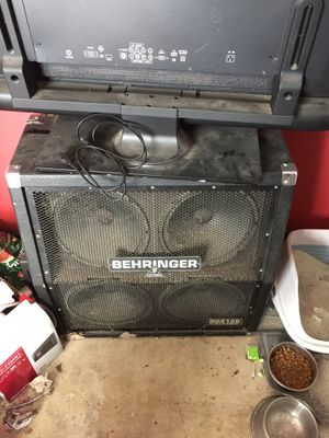 Half stack cab and guitars for Sale in Crestview, FL