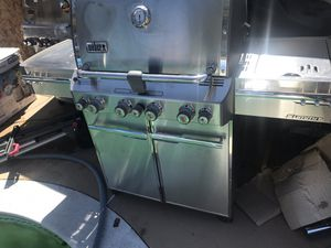 Weber summit s-470 natural gas grill barbecue pit cookout bbq for Sale in North Las Vegas, NV