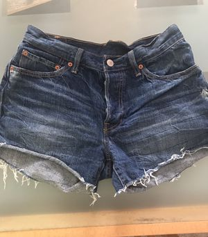 Jean Levi shorty shorts size 28 for Sale in Baltimore, MD