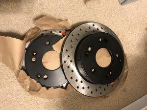 Brakenetic cross drilled rear rotors for Sale in San Antonio, TX