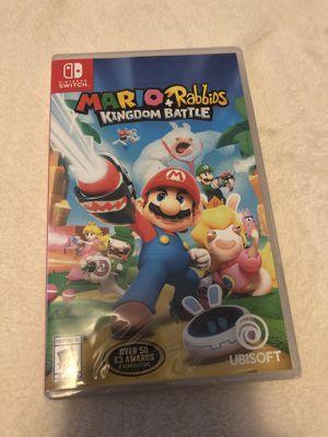 Brand new Mario Rabbids Kingdom Nintendo Switch for Sale in San Jose, CA