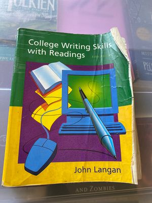 College Writing Skills with Readings for Sale in Chino, CA