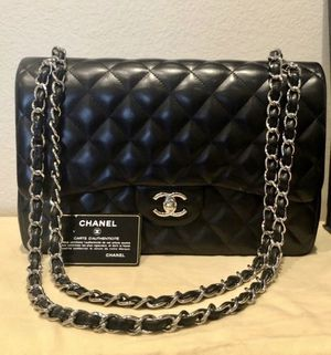 Chanel Classic Medium Lambskin Double Flap Bag (New) for Sale in Los Angeles, CA