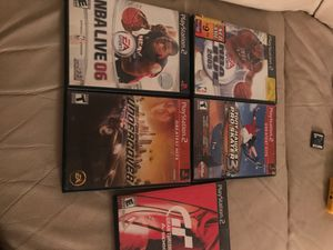 PS2 Games for Sale in Annandale, VA