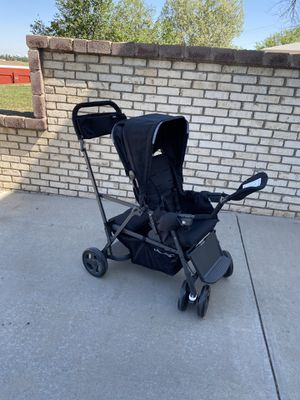 Joovy Caboose Too Ultralight Double Stroller - Excellent Condition for Sale in Westminster, CO
