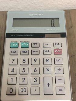 VTG SHARP Elsimate EL-334T 10 Key Digit Calculator for Sale in Bellevue,  WA