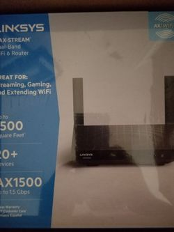 Linksys Max Stream Dual Band Wi-Fi Router for Sale in Pompano Beach,  FL