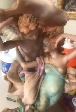 Leonardo collections angel with girl statue figurine for Sale in San Fernando, CA
