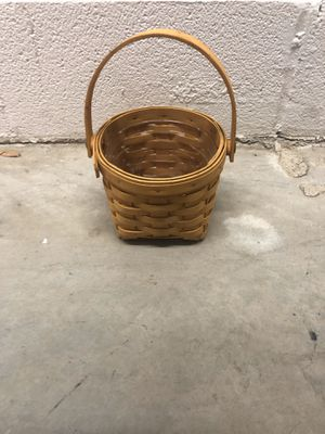 Longaberger Basket for Sale in Plano, TX