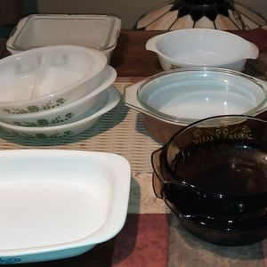 Vintage Casserole Dishes Pyrex Corning Ware And More for Sale in Gaithersburg, MD