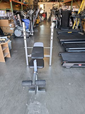 Free delivery!!! Assembled and delivered Standard Weight bench Bench press for Sale in Las Vegas, NV