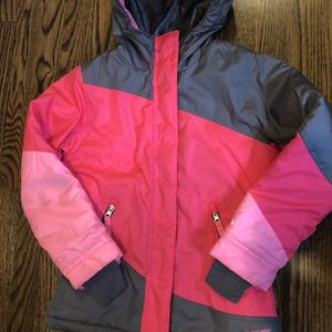 Champion Girls Snow Coat, Pink/Grey Size 6/6X for Sale in Pittsburgh, PA