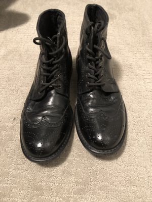 Men's size 8 Brogue/Wing tip boots for Sale in Denver, CO