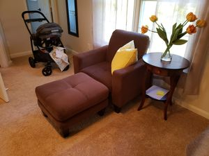 Chair with ottoman for Sale in La Plata, MD