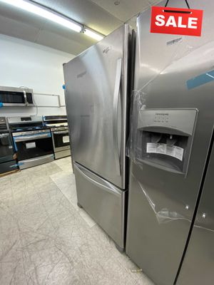 BLOWOUT SALE!Whirlpool Refrigerator Fridge Works Perfect Available Now! #1503 for Sale in Lauderhill, FL