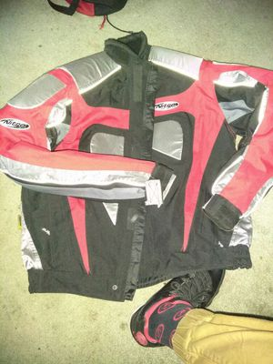 Great shape motorcycle jacket for Sale in Tampa, FL