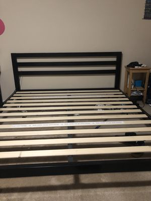 Bed frame king size for Sale in Austin, TX