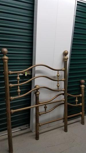 Twin Brass Headboard and Footboard for Sale in Little Ferry, NJ