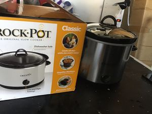 Classic crock pot 4 qt brand new in the box never used excellent condition for Sale in Las Vegas, NV
