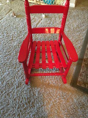 Kids rocking chair under 4 yrs for Sale in Littleton, CO