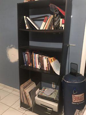Two black bookshelves for Sale in Miami, FL
