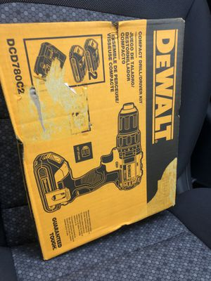 Dewalt drill brand new $100 for Sale in Sicklerville, NJ