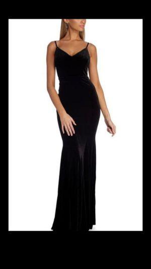 Velvet dress Mermaid style brand new size Small prom wedding for Sale in Dearborn, MI