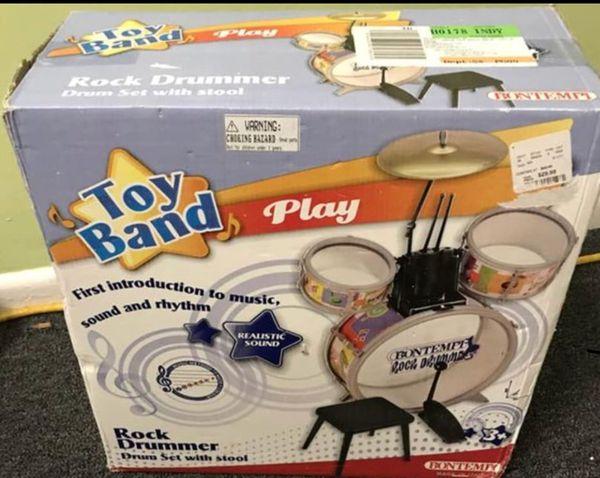 Set drummer toys kids