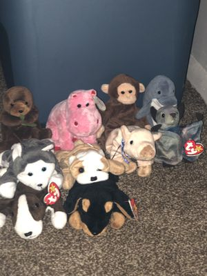 GREAT CONDITION!! Classic Beanie babies for Sale in Hightstown, NJ