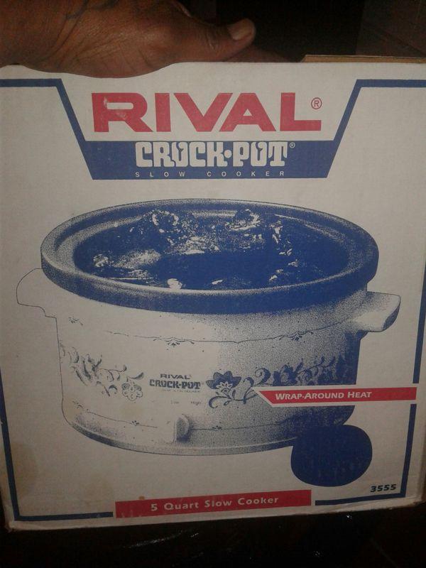 Brand new crock pot never used