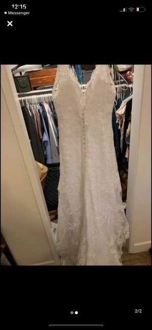 Trudys wedding dress size 14 for Sale in San Jose, CA