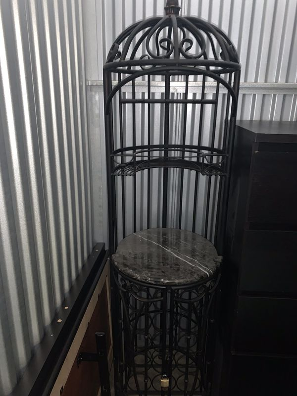 Storage unit filled with 2 bedroom townhome worth of furniture