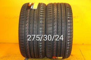 2 New tires 275/30/24 Llantas nuevas for Sale in Chula Vista, CA