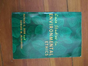"""""""Case Studies in Environmental Ethics"""" Textbook for Sale in Hanson, MA"""