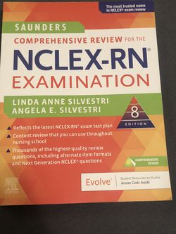 Saunders Nclex RN book for Sale in Gardner,  MA