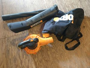 Worx leaf blower and leaf vac for Sale in Waukegan, IL