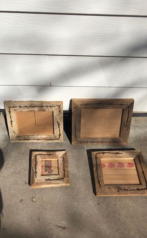 Custom handmade western picture frames for Sale in Eau Claire, WI