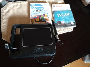 Nintendo Wii u draw tablet and game bundle for Sale in San Diego, CA